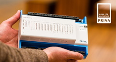 PRIVA BLUE ID C-LINE - eine Serie kompakter, hochmoderner und günstiger HLK-Regler, die für kleinere bis mittlere Projekte bestens geeignet sind. ©PRIVA